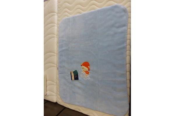 Dětská španělská deka s výšivkou