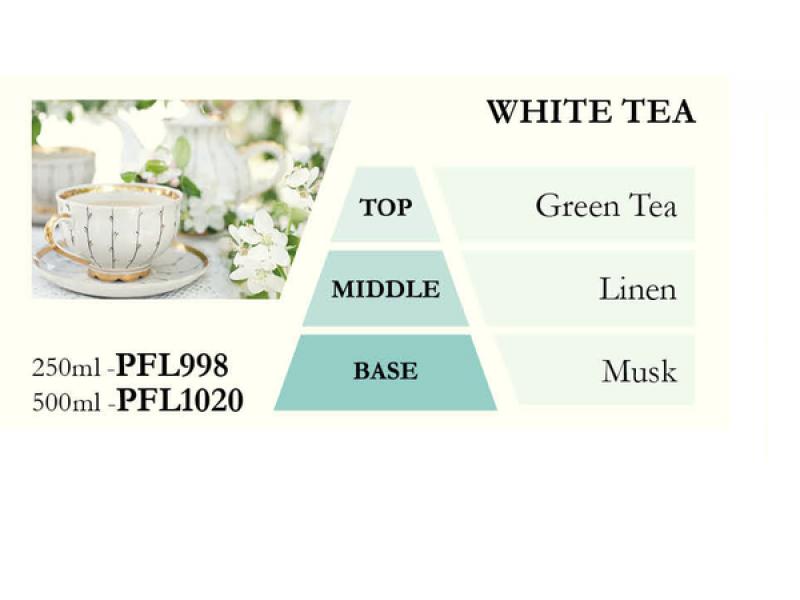 Náplň do katalytické lampy WHITE TEA (bílý čaj), 500 ml