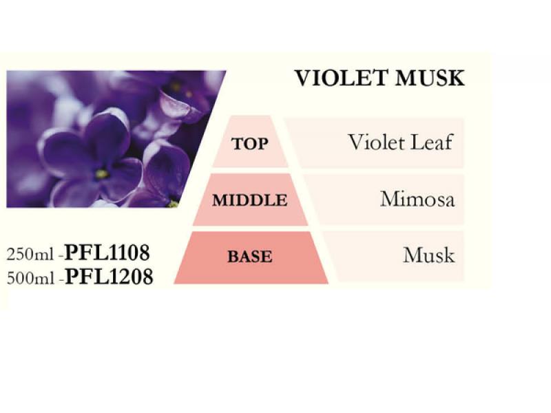 Náplň do katalytické lampy VIOLET MUSK (vůně fialek), 500 ml
