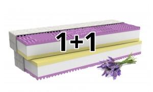 Ortopedická matrace 1+1 LEVANDULE COMFORT