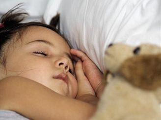 zdravé spaní dětí